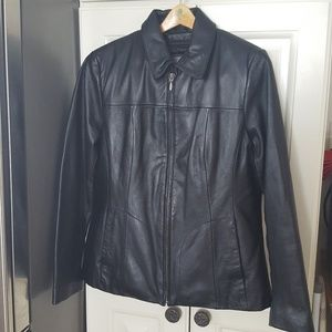 Wilsons Leather Dress Jacket Thinsulate Liner